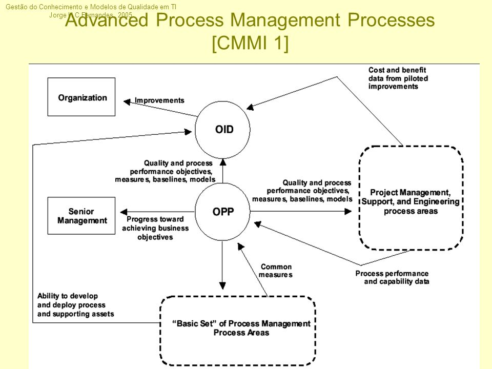 Advanced Process Management Processes [CMMI 1]